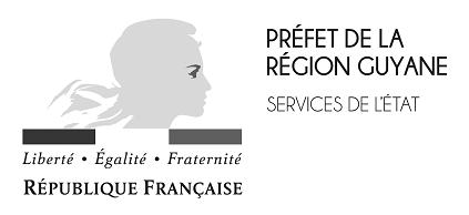 Logo Prefêt de la région Guyane